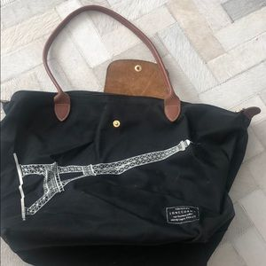 Limited edition longchamp le pliage tote